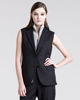 Maison Martin Margiela Sleeveless Tailored Jacket
