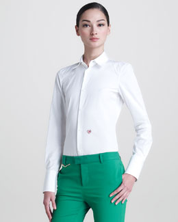 DSquared2 Les Copines Poplin Shirt
