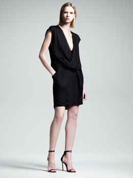 Alexander Wang Draped Pocket Dress