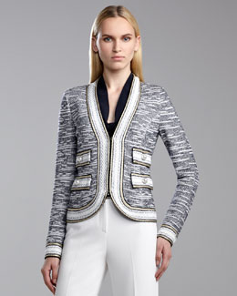 St. John Collection Nautique Knit Jacket