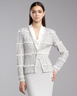 St. John Collection Positano Tweed Jacket
