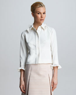 Marc Jacobs Ruffled Shirt