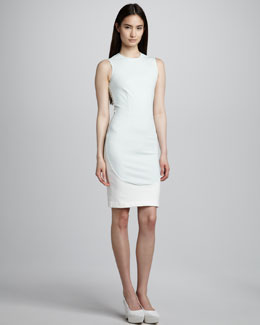 Stella McCartney Elliptical-Panel Sheath Dress