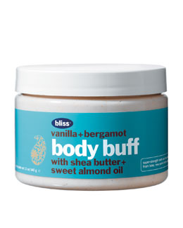 Bliss vanilla & bergamot body buff