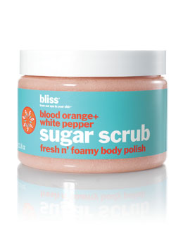 Bliss Blood Orange & White Pepper Sugar Scrub