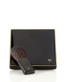 Cle de Peau Beaute Cheek Color Duo Case and Brush