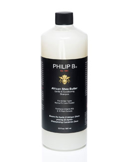 Philip B African Shea Butter Gentle & Conditioning Shampoo, 32 oz.