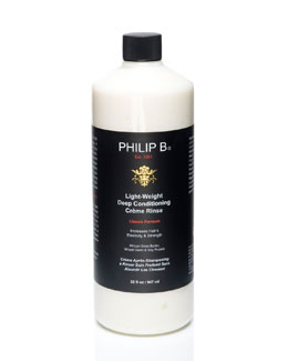 Philip B Light-Weight Deep Conditioning Creme Rinse—Classic Formula, 32 oz.