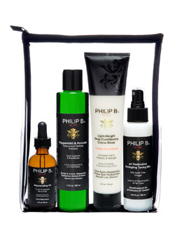 Philip B Four Step Hair & Scalp Treatment Set