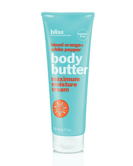 Bliss orange body butter