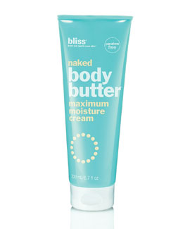 Bliss naked body butter, 6.7 oz.