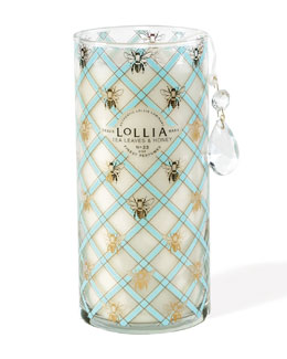 Lollia Wish Tall Perfumed Luminary, Tea Leaves & Honey