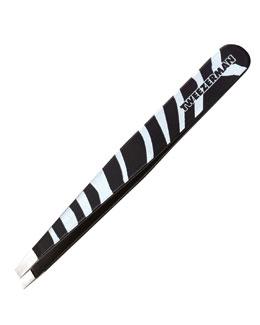 Tweezerman Zebra-Print Slant Tweezer
