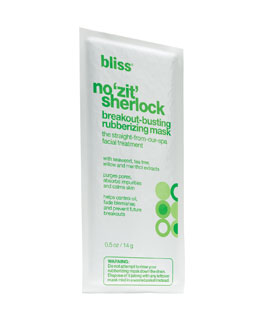 Bliss no 'zit' sherlock breakout mask