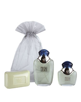 Cassini Parfums Men's Travel Set, Small