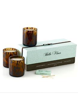 Belle Fleur Classic Floral Petite Trio