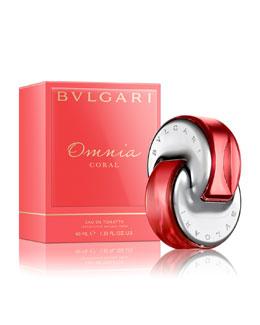 Bvlgari Omnia Coral Eau de Toilette, 1.3 oz.