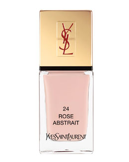 Yves Saint Laurent Beaute La Laque No24 Rose Abstrait