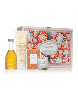 Fresh Sake & Seaberry Spa Retreat Set