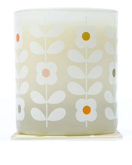 Orla Kiely Basil & Mint Scented Vegetable Wax Candle