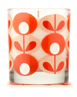 Orla Kiely Geranium & Myrrh Vegetable Wax Candle