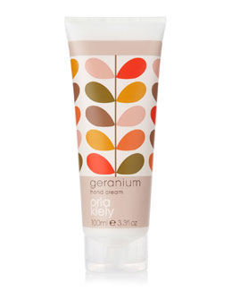 Orla Kiely Geranium Hand Cream, 3.3 fl.oz.