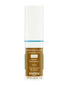 Sisley-Paris Super Stick Solaire Sun-Sensitive Areas Broad-Spectrum Sunscreen SPF30, Colorless