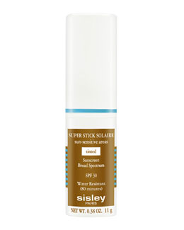 Sisley-Paris Super Stick Solaire Sun-Sensitive Areas Broad-Spectrum Sunscreen SPF30, Tinted