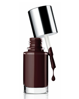 Clinique A Different Nail Enamel for Sensitive Skins, Black Honey