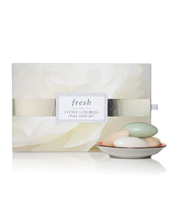 Fresh Limited Edition Little Luxuries Mini Oval Soap Set