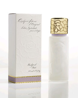 Houbigant Paris Quelques Fleurs Body Lotion in Glass Bottle