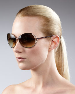 Tom Ford Open-Temple Sunglasses