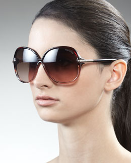 Tom Ford Islay Sunglasses, Brown
