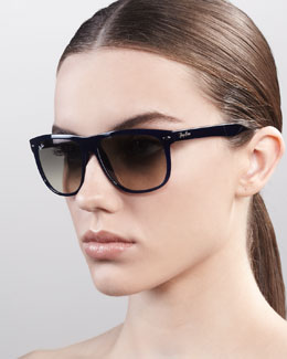 Ray-Ban Boyfriend Sunglasses, Navy