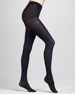 Hue Opaque Tights, Navy