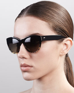 Oliver Peoples Mande Cat-Eye Sunglasses