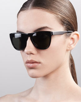 Oliver Peoples Braverman Sunglasses, Black