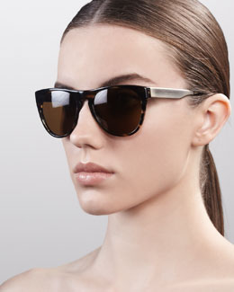 Oliver Peoples Braverman Sunglasses, Cocobolo