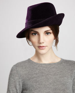 Eric Javits Tracy Velour Hat