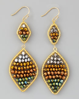 Nakamol Beaded Drop Earrings