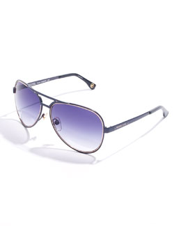 Michael Kors  Peyton Aviator Sunglasses