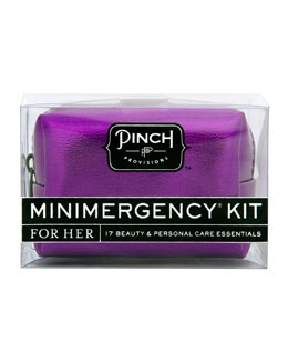 Pinch Provisions Minimergency Kit For Her, Metallic Purple