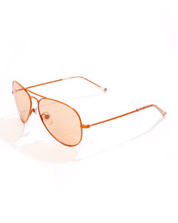 MICHAEL Michael Kors  Rachel Aviator Sunglasses