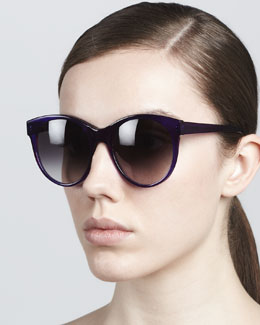 Illesteva Mademoiselle Cat-Eye Sunglasses