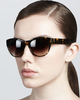 Oliver Peoples Mandee Gradient Sunglasses