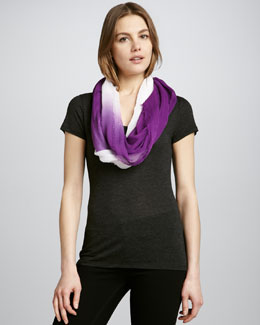 Michael Stars Gradual Eternity Scarf, Boysenberry
