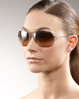 Ray-Ban Rounded Aviator Sunglasses