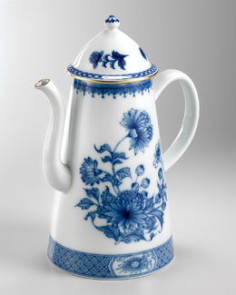 Mottahedeh Imperial Blue Coffee Pot