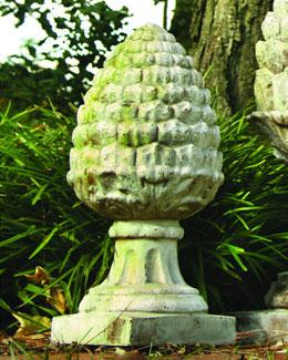 ORLANDI STAUARY Acorn Finial Statue