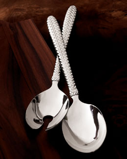 "Two-Piece ""Equestrian Braid"" Salad Set"